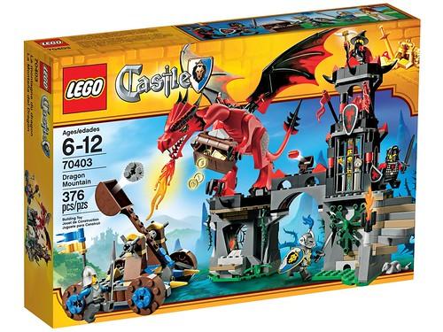 LEGO Castle 2013 70403 Dragon Mountain Box