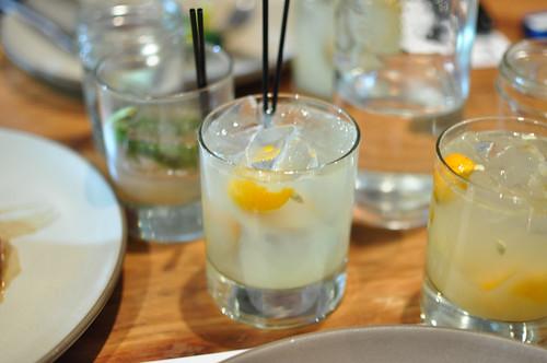 nagami caipiroska akvinta vodka, lime, sugar, kumquat
