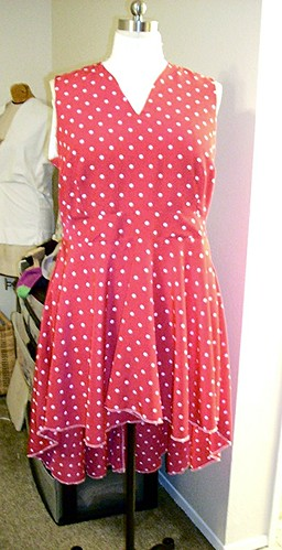 Shaner Dress Front View