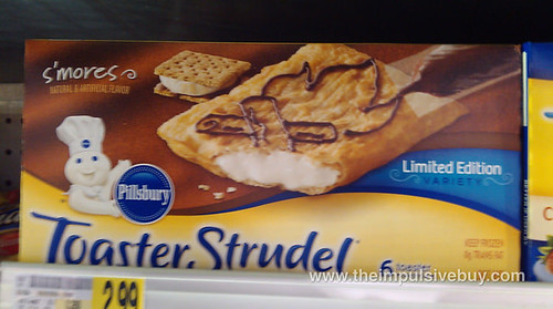 Pillsbury Limited Edition S'mores Toaster Strudel