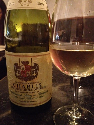 ワインはもちろんシャブリ@Me Chablis(ムシャブリ)