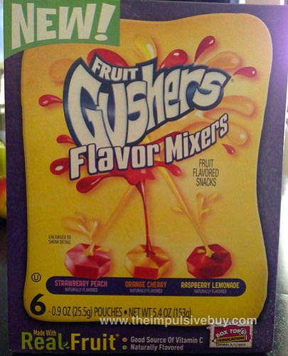 Fruit Gushers Flavor Mixers