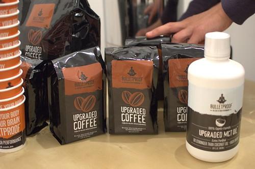 Bulletproof coffee and MCT oil