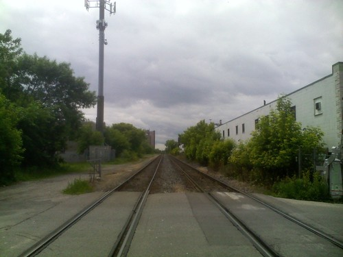 Train tracks, Bartlett between Dupont and Geary (3)