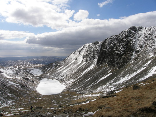 Goat's Water and Dow Crag from Goat's Hause