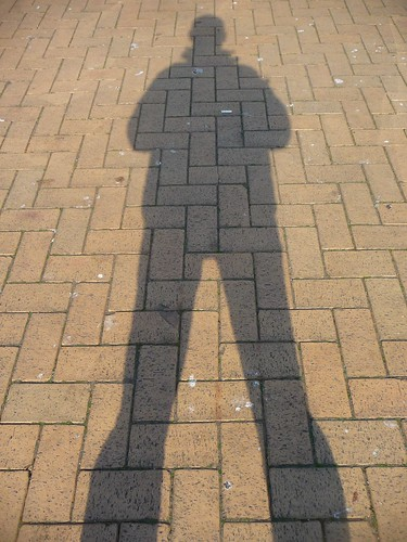 Me Shadow by Maurits Burgers