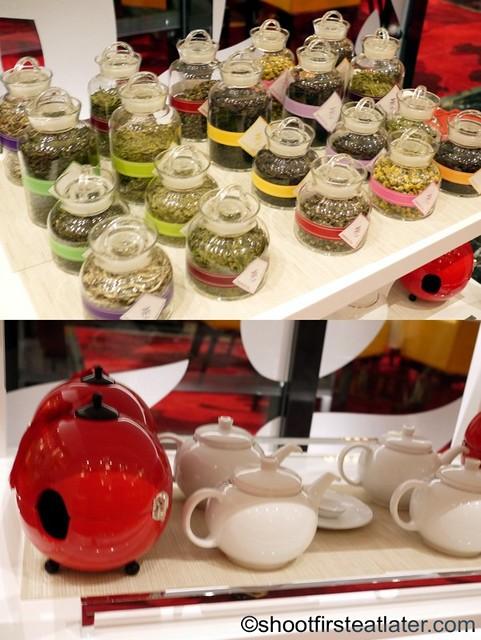 Red Lantern @ Solaire- tea choices