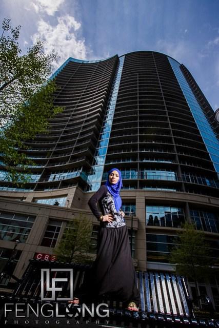 Hijab-ista.com Fashion Shoot | Midtown Atlanta