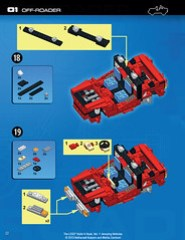 The LEGO Build-it Book, Vol. 1: Amazing Vehicles (p. 22)