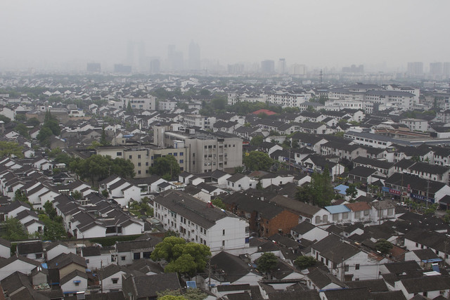 Suzhou from the Bao'en Temple Pagoda