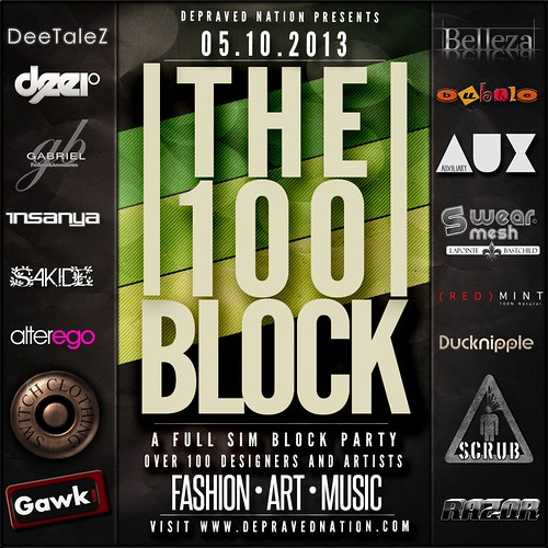 The 100 Block Flier