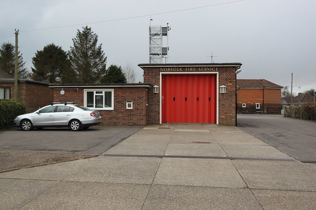 Watton Fire Station, Norfolk