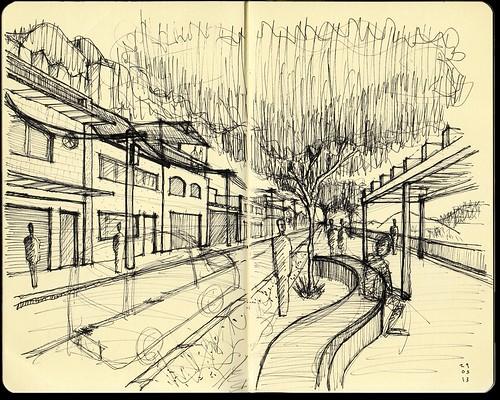 caderneta de desenhos