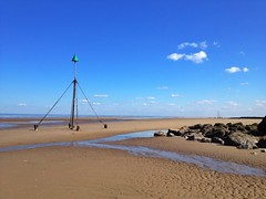 Barkby Beach, Prestatyn, North Wales