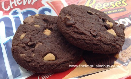 Chewy Chips Ahoy Chocolate Made With Reese's Peanut Butter Cups Closeup