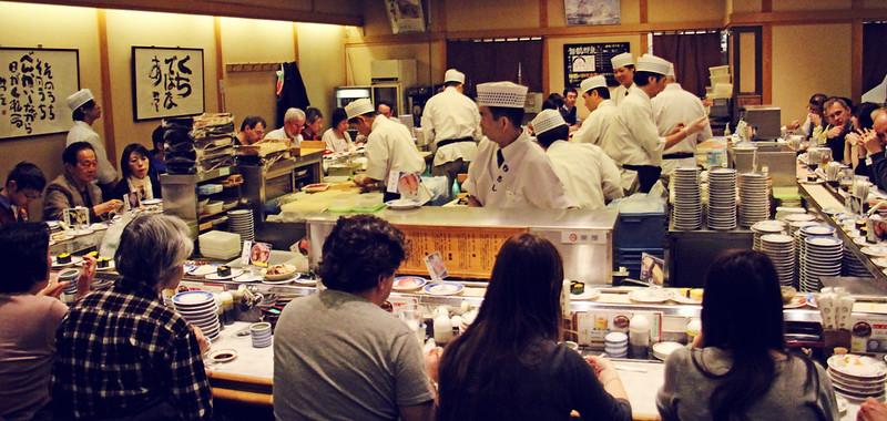 Dinner at Musashi Sushi
