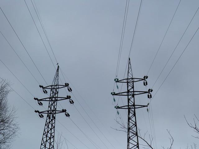 Линии электропередачи // Power line