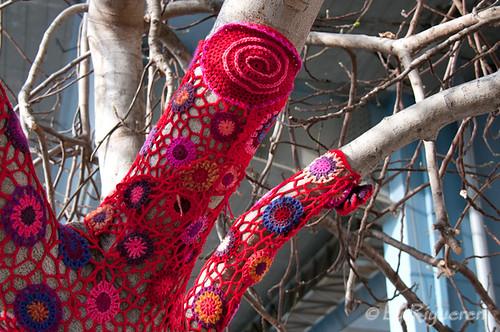 Yarn Bombing al Porto Antico