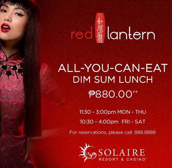 Red Lantern Dim Sum Lunch