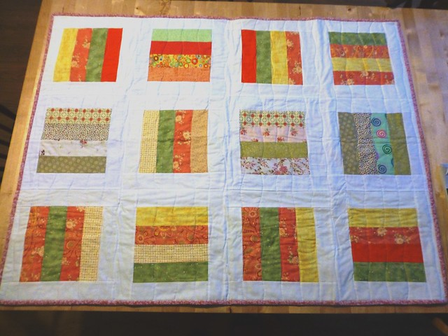 Bee Blessed Quilt Apr13