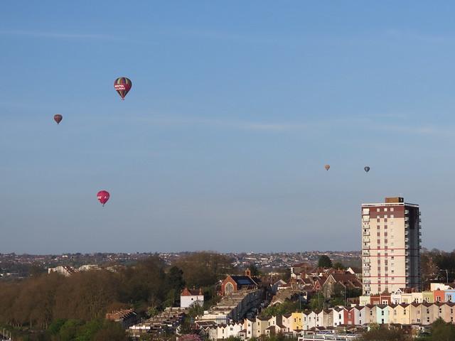 Balloons in Bristol