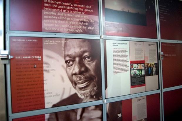 Nobel Peace Center: Kofi Anan