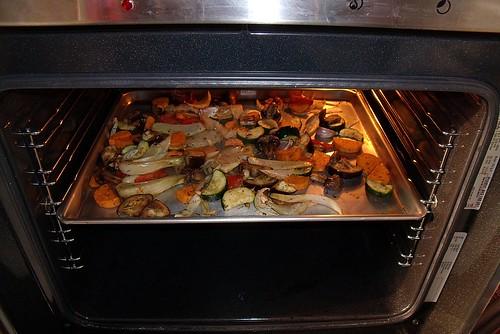 Gemüse aus dem Ofen 3