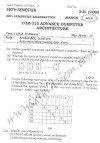 DTU Question Papers 2010 – 6 Semester - Mid Sem - COE-315