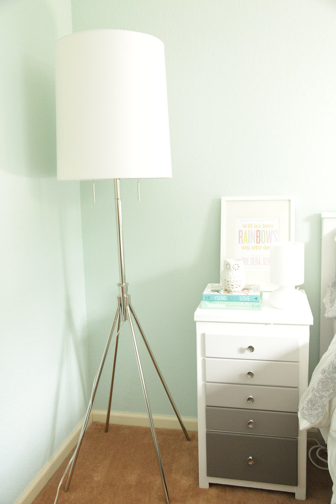 New Lamp in the Guest Room