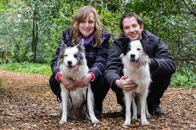 (9) Sandra & Koen with Kay & Norah