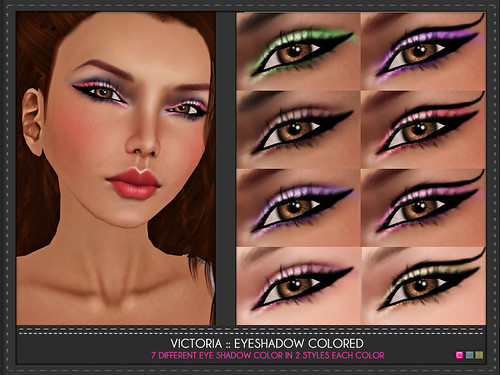Victoria Eye Shadow Color