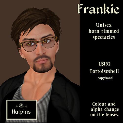 Hatpins - Frankie Horn-Rimmed Specs - Tortoiseshell