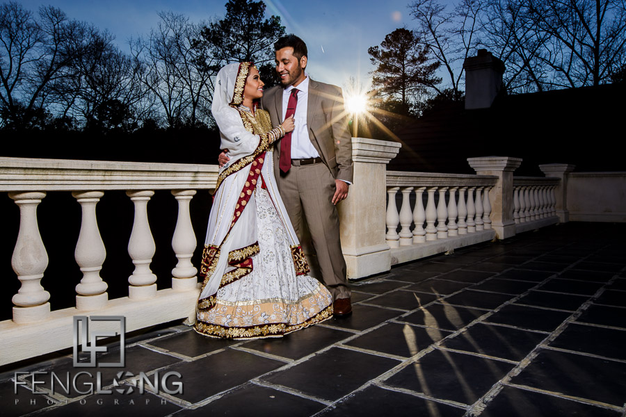 Sani & Javed's Pre-Wedding Bridal | Villa Serena | Atlanta Indian Wedding Photography
