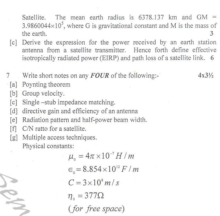 DTU Question Papers 2010 – 6 Semester - End Sem - IT-315