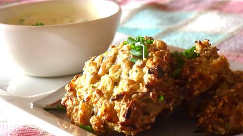 Cereal & Almond Parippuvada - Polpette di cereali e mandorle