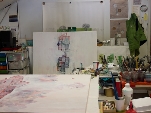 Studio visit with Siobhan Humston-5
