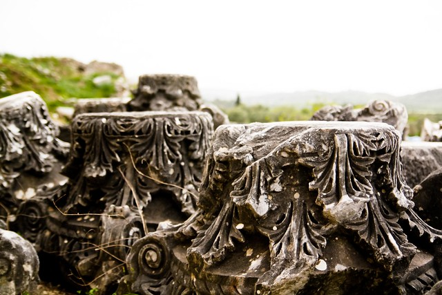 capitals at Priene