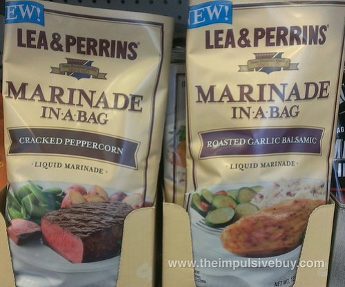 Lea & Perrins Marinade in a Bag