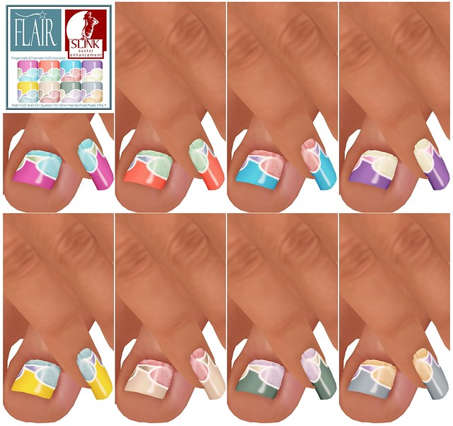 Flair - Nails Set 61