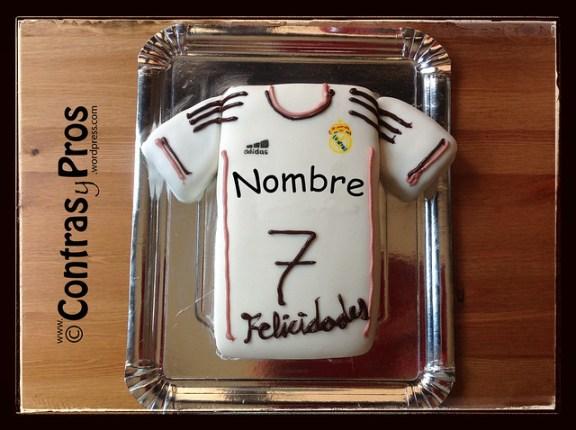 Tarta camiseta Real Madrid