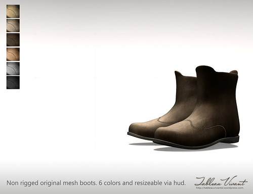 ~Tableau Vivant~ Leather boots - AD