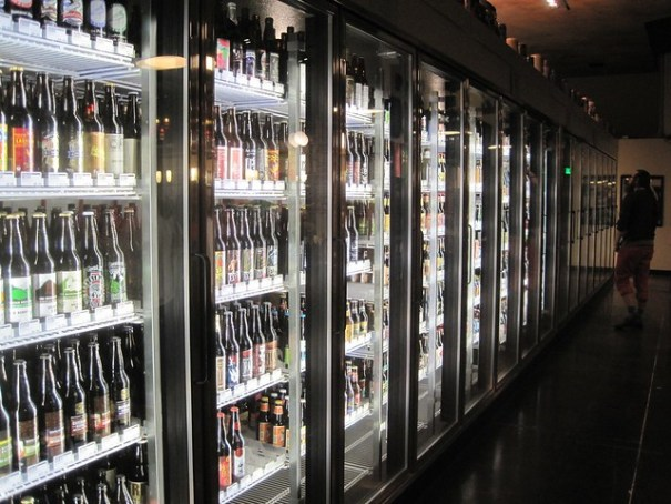 All pub and cooler lighting is LED, both for energy conversation and to maintain better beer quality.