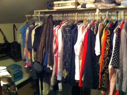 Grandma's '80s closet