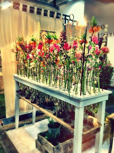Flower installation by SpatzMe