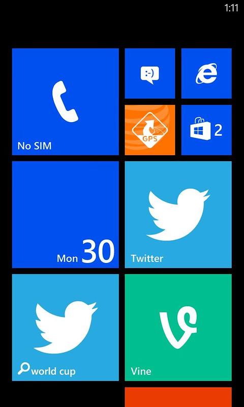 Vine tiles on Windows Phone