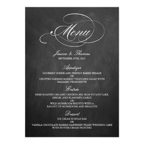 (Elegant Chalkboard Wedding Menu Templates Card) #Blackboard, #Celebrations, #Chalkboard, #ChalkboardWeddingMenu, #Dinner, #Elegant, #ElegantWeddings, #Fancy, #Letterpress, #Marriages, #MatchingWeddingCollections, #Menu, #Menus, #New, #Party, #Receptions,