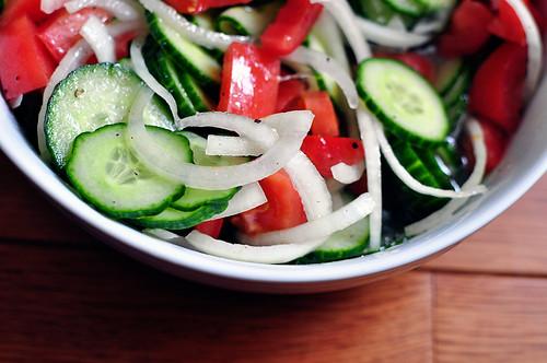 Cucumber Tomato Salad 4