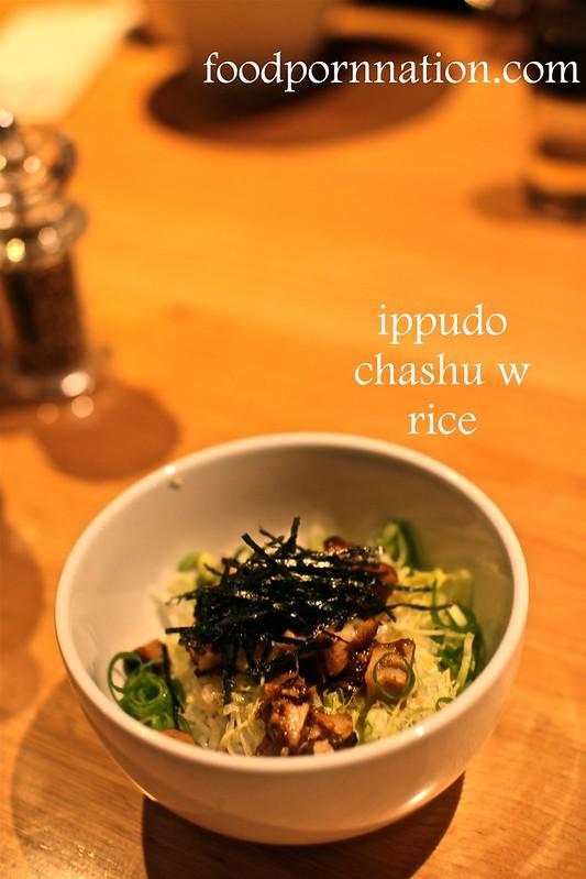 ippudo chashu w rice