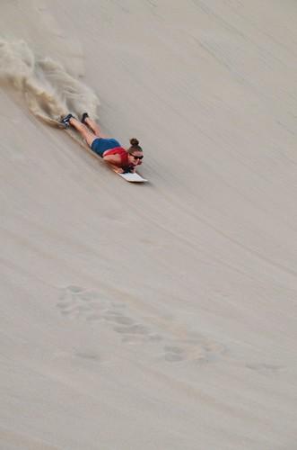 Tuva sandboarding