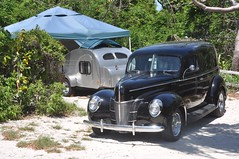 Nice camping-car at Bahia honda state park, Florida Keys